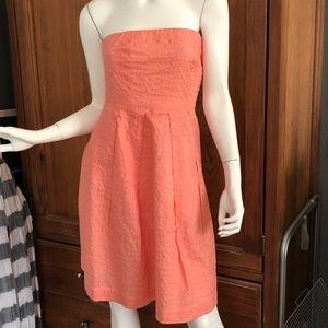 J Crew strapless dress size 2